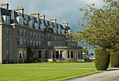 View of The Gleneagles Hotel in Scotland