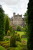 View of Inverlochy Castle Hotel, Scotland