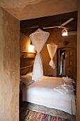 Bedroom in Eskaleh Nubian Lodge in Abu Simbel, Egypt
