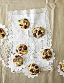 Oat cookies with dates