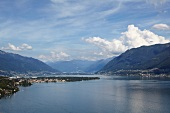 Views of Lake Maggiore and Ascona in Ticino, Switzerland