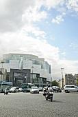 View of Opera Bastille road in Place de la Bastille, Paris