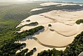 View of Sand island, Fraser Island, Queensland, Australia