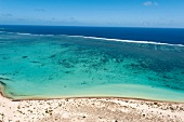 View of Ningaloo reef in Turquoise Bay, Western Australia