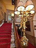 Interior of Pera Palace Hotel, Jumeirah, Istanbul, Turkey