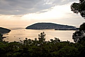 View of Marmara sea and Prince Island, Istanbul, Turkey