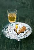 Folienkartoffel mit Matjes & Schmand