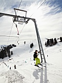 People at Rigi Staffel in Uri Alps, Lake Lucerne, Switzerland