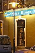 Entrance of Bingert at Nauwieser quarters, St. Johann, Saarbrucken, Saarland, Germany