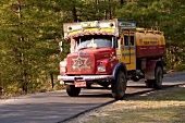 Truck on Bumthang Road, Buthan