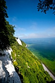View of Jasmund National Park in Rugen, Germany