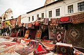 Carpet shop in Goreme, Anatolia, Cappadocia, Turkey