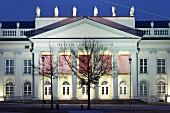 Facade of Fridericianum Museum in Friedrich Place, Kassel, Hessen, Germany