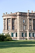 Facade of Castle William at Kassel, Hesse, Germany