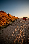 Cottage on beach of Westerland, Rotes Kliff, Sylt, Germany