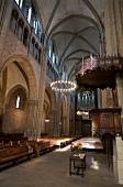 Interior of St. Peter's Cathedral, Geneva, Switzerland