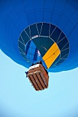 Air balloon in Chateau d'Oex, Alps, Canton of Vaud, Lake Geneva, Switzerland