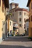 Village of Barolo, Alley, Italy