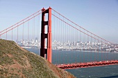 View of Golden Gate Bridge, San Francisco, California