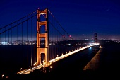 Golden Gate Bridge, Nacht, San Francisco