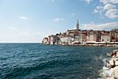 View of Rovinj old town, Istria, Croatia
