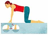 Fingergelenke, Ellenbogen, Übung 1, Schmerzen vorbeugen, stärken