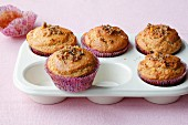Orange muffins with pepper