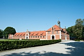 Exterior of State Stud Celle, Lower Saxony, Germany