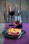 Lasagne mit Wintergemüse