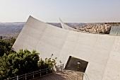 View of Yad Vashem memorial, Jerusalem, Israel