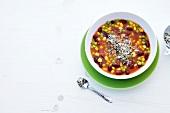 Abnehmen, Minestrone avanti, Gemüseeintopf, Parmesan