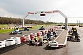Castle Dankern kart track in Haren, Lower Saxony, Germany