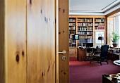 Office cabin of Friede Springer in Berlin, Germany