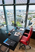 Office cabin of CEO Rudiger Grube of Deutsche Bahn AG in Berlin, Germany