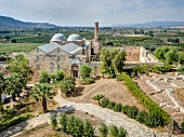 View of Isa Bey Mosque in Selcuk, Turkey