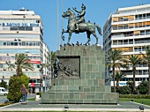 Ataturk monument in Cumhuriyet Square, Izmir, Turkey