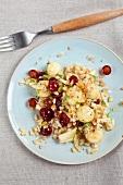 Abnehmen to go, Fruchtiger Körnersalat