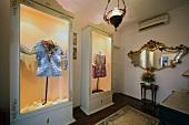 Costumes in Zeki Muren Museum, Bodrum Peninsula, Aegean Region, Turkey