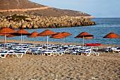 Türkei, Türkische Ägäis, Halbinsel Resadiye, Palamutbükü Strand