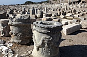 Ancient ruins of Knidos, Aegean Sea, Turkey