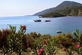 View of Kargi bay and mountains in Datca, Resadiye Peninsula, Turkey