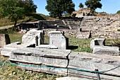 Türkei, Türkische Ägäis, Troja, Ruine