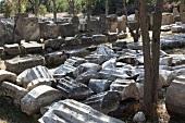 Türkei, Türkische Ägäis, Troja, Ruine, Steine