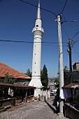 Türkei, Türkische Ägäis, Assos, Moschee