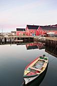 Kanada, Nova Scotia, Lunenburg, Hafen, Morgenlicht