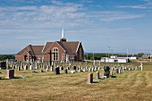 St. Joseph du Moine in Cape Breton island, Nova Scotia, Canada