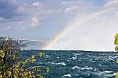 Kanada, Niagara Falls, Blick von Canadian Niagara Power Plant