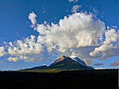 View of Mount Rundle in Banff National Park, Alberta, Canada