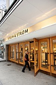 Entrance of Steen and Strom department store in Oslo, Norway