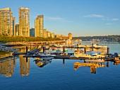 Seaplanes at Coal Harbour, Vancouver, British Columbia, Canada